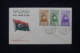 LIBYE - Enveloppe FDC En 1955 - L 84394 - Libye