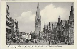 AK Lüneburg, Am Sande Mit Johanniskirche 1955 - Lüneburg