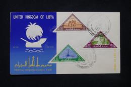 LIBYE - Enveloppe FDC En 1962 - L 84397 - Libye