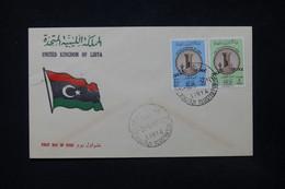 LIBYE - Enveloppe FDC En 1961 - L 84398 - Libye
