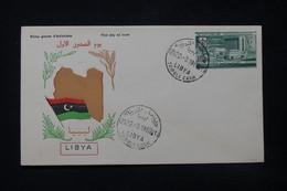 LIBYE - Enveloppe FDC En 1960 - L 84399 - Libye