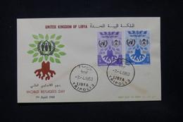 LIBYE - Enveloppe FDC En 1960 - L 84401 - Libye
