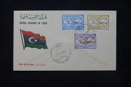 LIBYE - Enveloppe FDC En 1961 - L 84402 - Libye
