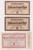 DEUTSCHLAND, Reichsbahndirektion Dresden, 3 Scheine - Other