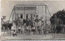 """17 Colonie De Vacances """"Les Marinettes"""" PIEDEMONT , Par PORT-des-BARQUES - Le Portique Et L'infirmerie - Other Municipalities"""