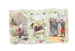 11910 - Chromo CALENDRIER 1901 - A.LARCHER Chicorée, ANNAY SOUS LENS, - Non Classificati