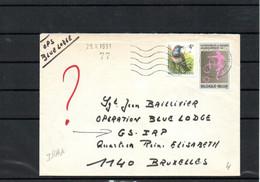 Lettre - ONU Blue Lodge IRAK 1991   - BUZIN - AL01 - Military Post