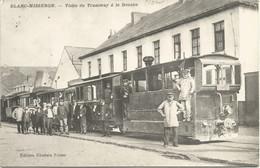 59 - BLANC-MISSERON - Visite Du Tramway à La Douane - (Édition Ghislain Frère) - Other Municipalities