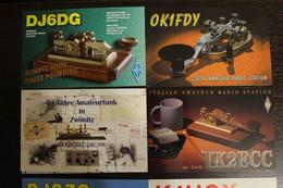 Amateur Radio Cards Telegraph Keys - Unclassified