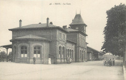 CPA 67 Bas Rhin BARR La Gare - Barr