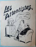 PROPAGANDE NATIONALISTE EXTREME DROITE ET ANTISIONISME  DES ANNEES 1940 SUR LES ATTENTISTES RARE PLAQUETTE ORIGINALE - 1939-45