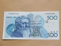 Belgique - Belgïe - 500 Francs - Meunier - UNC - Undated - - 500 Francs