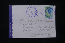 BRÉSIL - Timbre Fiscal Sur Enveloppe De Manaus Pour La France En 1994, Oblitération De L 'Aéroport - L 84474 - Cartas