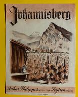 17979 - Johannisberg Du Valais Arthur Philippoz Leytron Ancienne étiquette - Andere