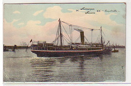 """15857 Ak Antwerpen Anvers S.S. """"Leopoldville"""" 1915 - Zonder Classificatie"""
