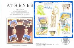 Enveloppe 1er Jour Athènes, 2004 (BF 78) - 2000-2009