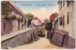 20154 Ak Tangermünde Straße Nach Der Wasserpforte 1912 - Ohne Zuordnung