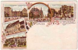 23899 Lithografie Gruss Aus Dessau 1898 - Sin Clasificación