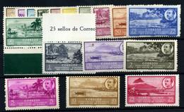 Guinea Española Nº 277/93.  Año 1949/50 - Guinea Spagnola