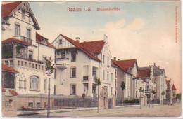 24670 Ak Gruß Aus Rostock Wasserpartie Am Mühlentor1906 - Unclassified