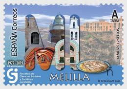 Spanje / Spain - Postfris / MNH - 12 Maanden, 12 Postzegels, Melilla 2020 - 2011-... Nuovi & Linguelle