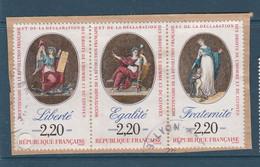 FRANCE O. -  1989 - SERIE ATTENANTE 2573/2574/2575 - Gebruikt