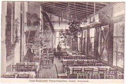 29349 Ak Cassel Hotel Restaurant Parkschlößchen Um 1920 - Ohne Zuordnung