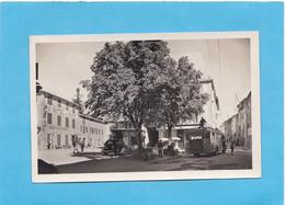 ALPES DE HAUTE PROVENCE (04)  SAINT ANDRE LES ALPPES ARRIVÉE DU BUS SUR LA PLACE HOTEL DU PARC - Other Municipalities