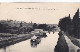 Saône-et-Loire - Bourg-le-Comte - Le Canal Et Le Port - Andere Gemeenten