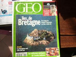 GEO - 1994 N°185 - îles De Bretagne - Conquête De La Lune - Australie - Tourism & Regions