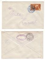 30089 Brief Militär Flugtag Basel Schweiz 1923 - Aéreo