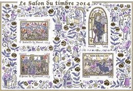 FRANCE 2014 Salon Du Timbre  Les Grandes Heures De L'Histoire De France - Ungebraucht