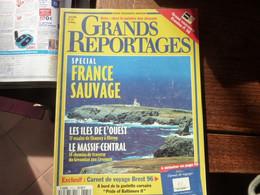 Grands Reportages - France Sauvage - Les îles De L'ouest - Massif Central - Tourism & Regions