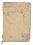 1847 CHAVIGNON (AISNE) - OBLIGATION  ENTRE DEVORSINE ET HUYART - ACTE DEVANT ME LEGRAS NOTAIRE A VAILLY - Documenti Storici