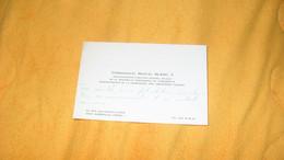 CARTE DE VISITE COMMANDANT MARCEL BLANC ADMINISTRATEUR DGA DE LA NOUVELLE COMPAGNIE DE PAQUEBOTS. ADM. CIE DES CROISIERE - Visiting Cards