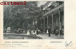 OOSTERHOUT HOTEL KOPPELPAARDEN NEDERLAND 1900 - Oosterhout