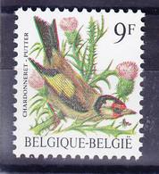 BELGIQUE BUZIN COB 2190 ** MNH, TYPO 2, SIGNATURE DOUBLEE .  (3PO62) - 1985-.. Pájaros (Buzin)