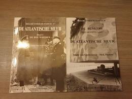 (1940-1945 ATLANTIKWALL BUNKERS MARINE) De Atlantische Muur. 2 Delen. - Oorlog 1939-45