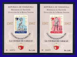 1967 - Venezuela - Scott  Nº C 952a - C 953a - MNH - Emitidas Sin Goma - VE- 16 - 01 - Venezuela