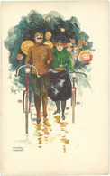 Cpa Illustrateur Kirchner - Vélos - Kirchner, Raphael