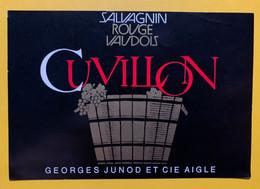 17996 - Salvagnin Cuvillon Georges Junod Aigle - Andere