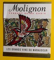 18000 - Molignon Fendant Les Grands Vins Du Maraudeur Jean-Joseph Pitteloud Sion - Andere