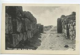Grèce - Tyrins Gate Near Grand Tower  ** Belle Carte NEUVE ** - Grecia