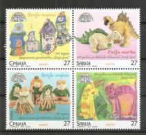 SERBIA 2018,CHILDREN STAMPS,, MNH - Serbia
