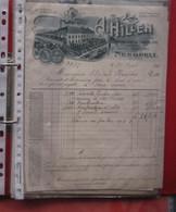MAP 01 En 02 : Facturen E.d. Cirka 45 Stuks Tel Ze Zelf, Zie Alle Foto-scans, Goede Staat, Regio OOST En Zuid Belgie - 1800 – 1899