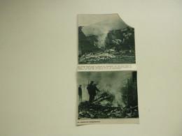 """Origineel Knipsel ( A 508 ) Uit Tijdschrift """" De Stad """"  1932 :  Brand  Vlasfabriek  Kuurne - Zonder Classificatie"""