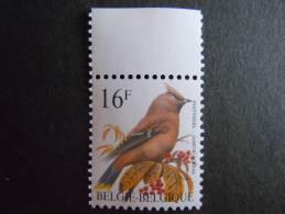 België Belgique Belgium 1994 Vogel Oiseau Buzin Pestvogel Jaseur Boreal COB 2534 MNH ** - 1985-.. Oiseaux (Buzin)