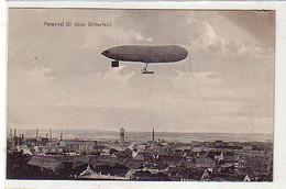 40485 Ak Luftschiff Parseval III über Bitterfeld 1910 - Zonder Classificatie