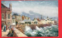 YORKSHIRE    BRIDLINGTON  PRINCES PARADE TUCK ART - Altri
