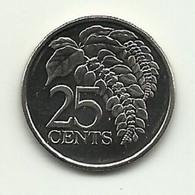 2008 - Trinidad E Tobago 25 Cents - Trinidad & Tobago